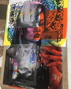#print #printmaking #color #line #collag