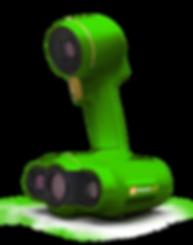 Portable 3d scanner for creating 3d digital scans