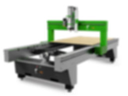 Compact 4-axis CNC router
