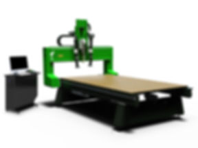 4-axis cnc foam carving router
