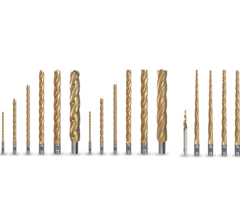 Durable CNC router bits specifically designed for milling EPS foam