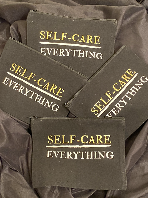 Self-Care Over Everything Canvas Pouch