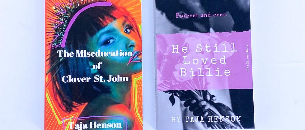 PAPERBACK Bundle | The Miseducation of Clover St. John & He Still Loved Billie