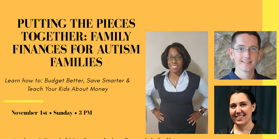 Putting the Pieces Together: Family Finances for Autism Families