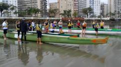 Canoa Caiçara participa da VI SIPAT Educação