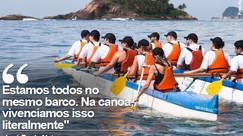 Matéria do G1 - Treinamentos corporativos usando a canoa havaiana