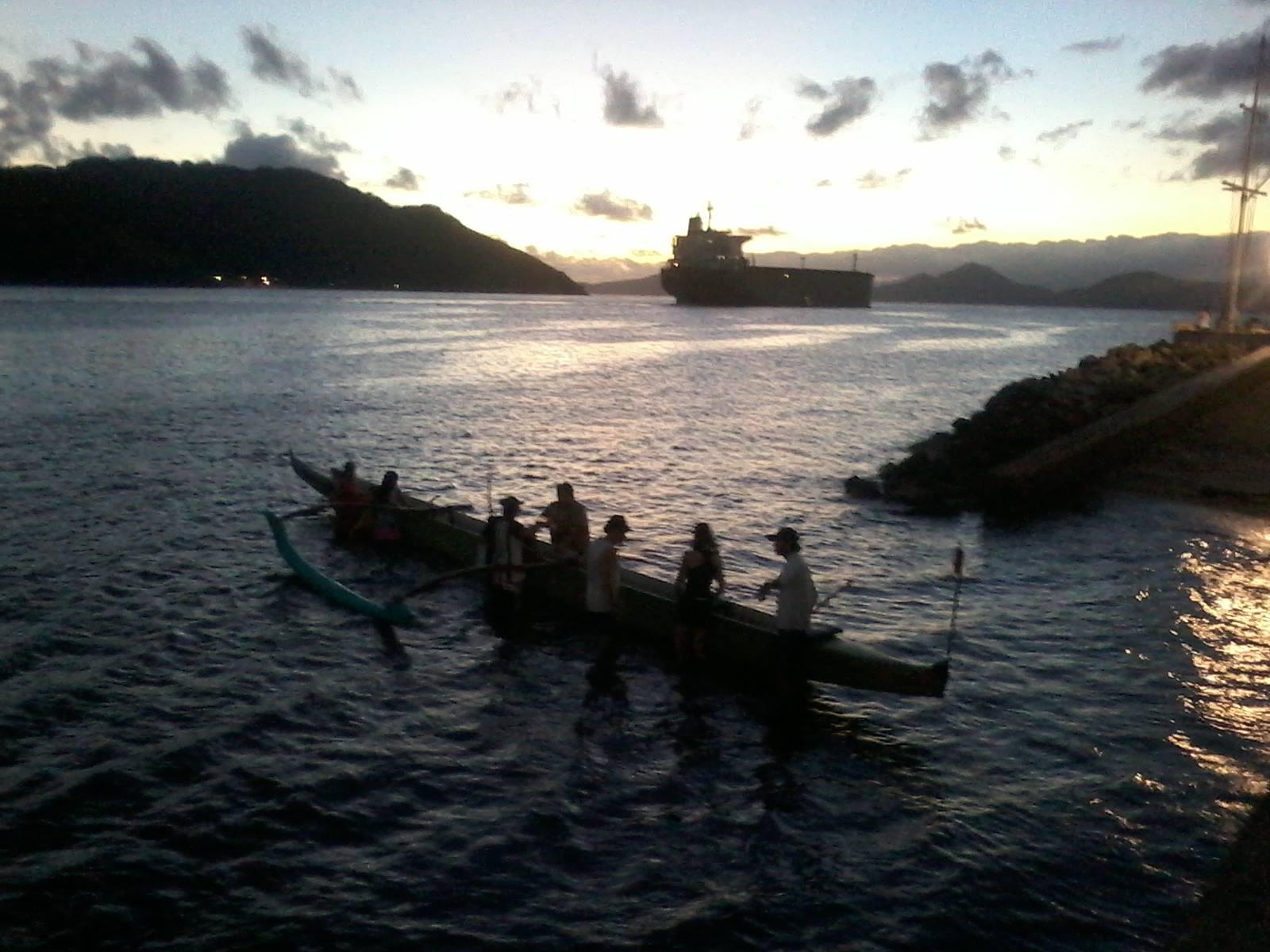 Aulas de Canoa Havaiana