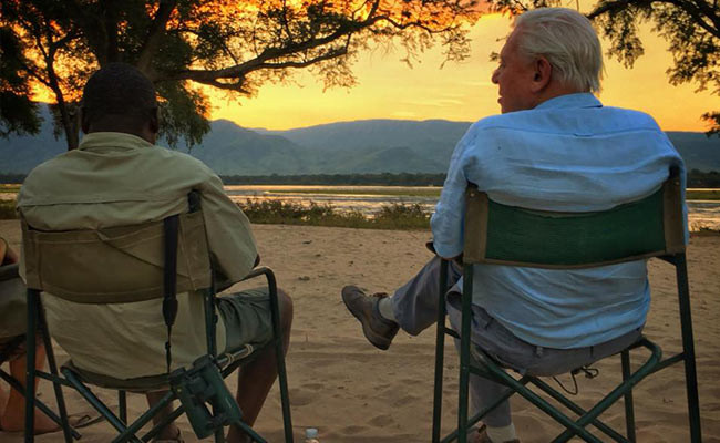 Henry Bandure & Sir David Attenborough