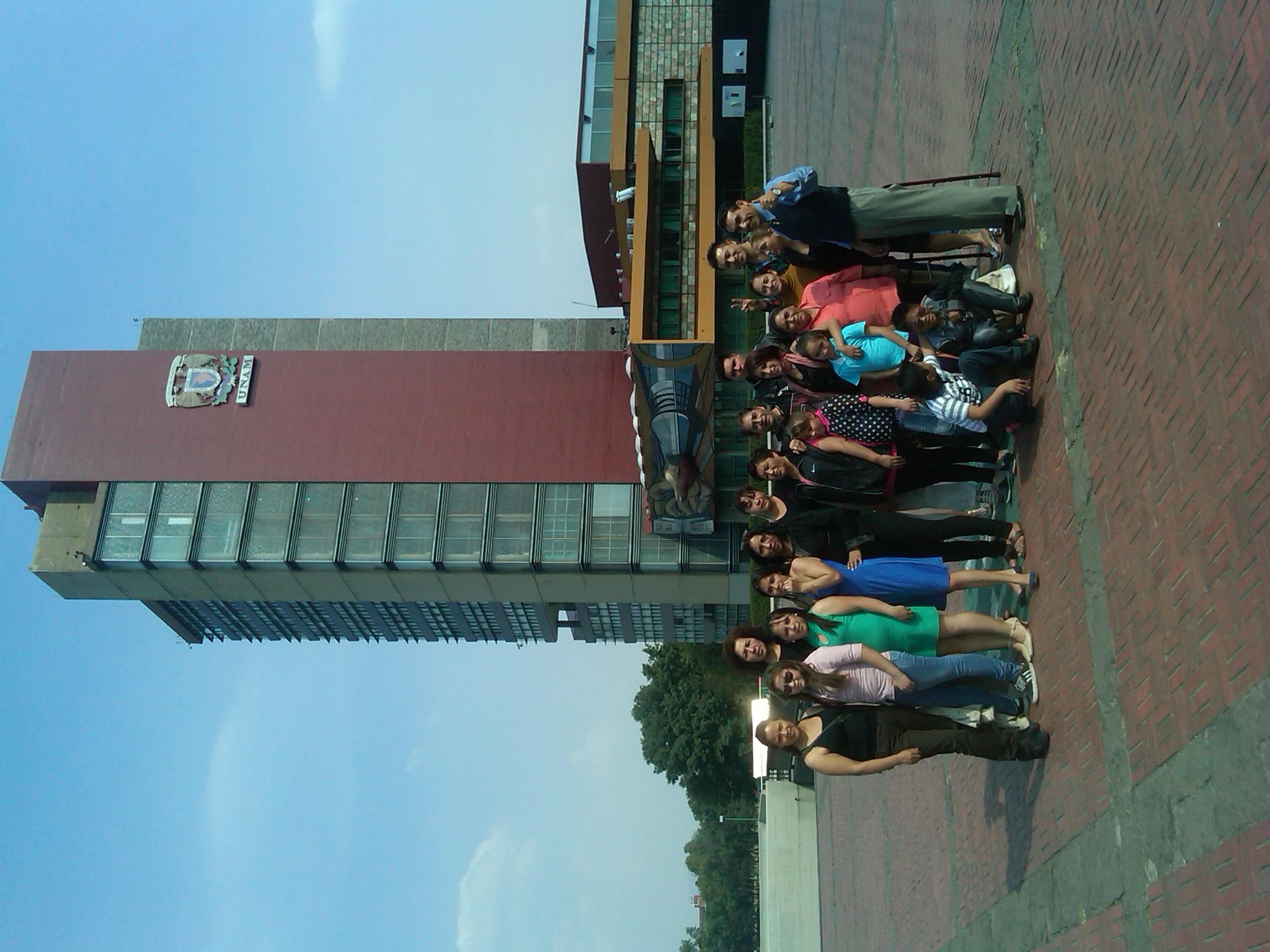Visita guiada a la UNAM 1
