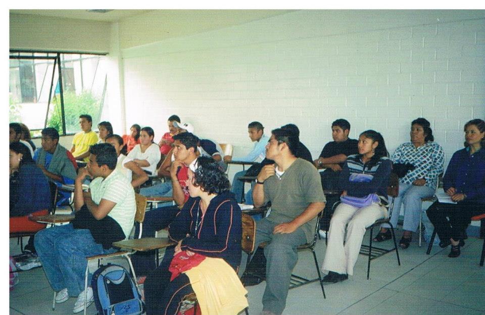 Salón de clases de educación básica