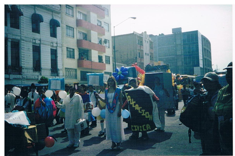 Taller de derechos humanos, desfile los derechos humanos en Av. Paseo de la Reforma 2