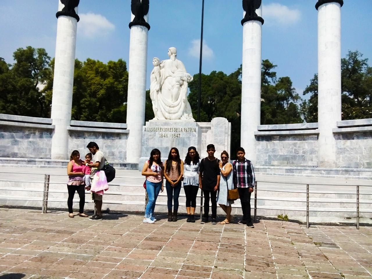 Visita al Castillo de Chapultepec 4