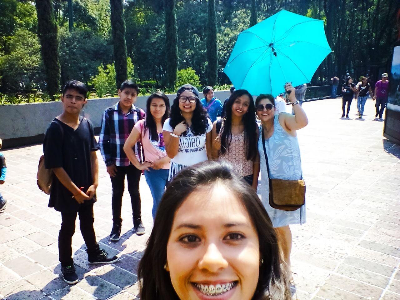 Visita al Castillo de Chapultepec 2