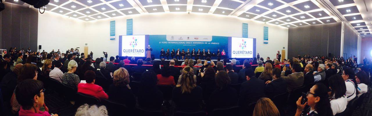 6o_Foro_Internacional_de_las_ONGs_Socios_Oficiales_de_la_UNESCO,_Querétaro_1