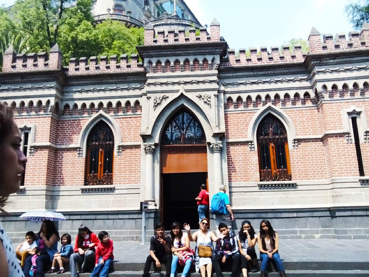 Visita al Castillo de Chapultepec 1