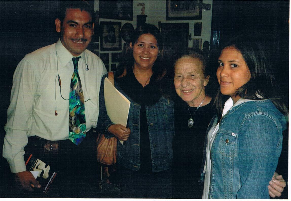 Mujer defensora de los derechos humanos, Rosario Ibarra de Piedra - entrevista 2
