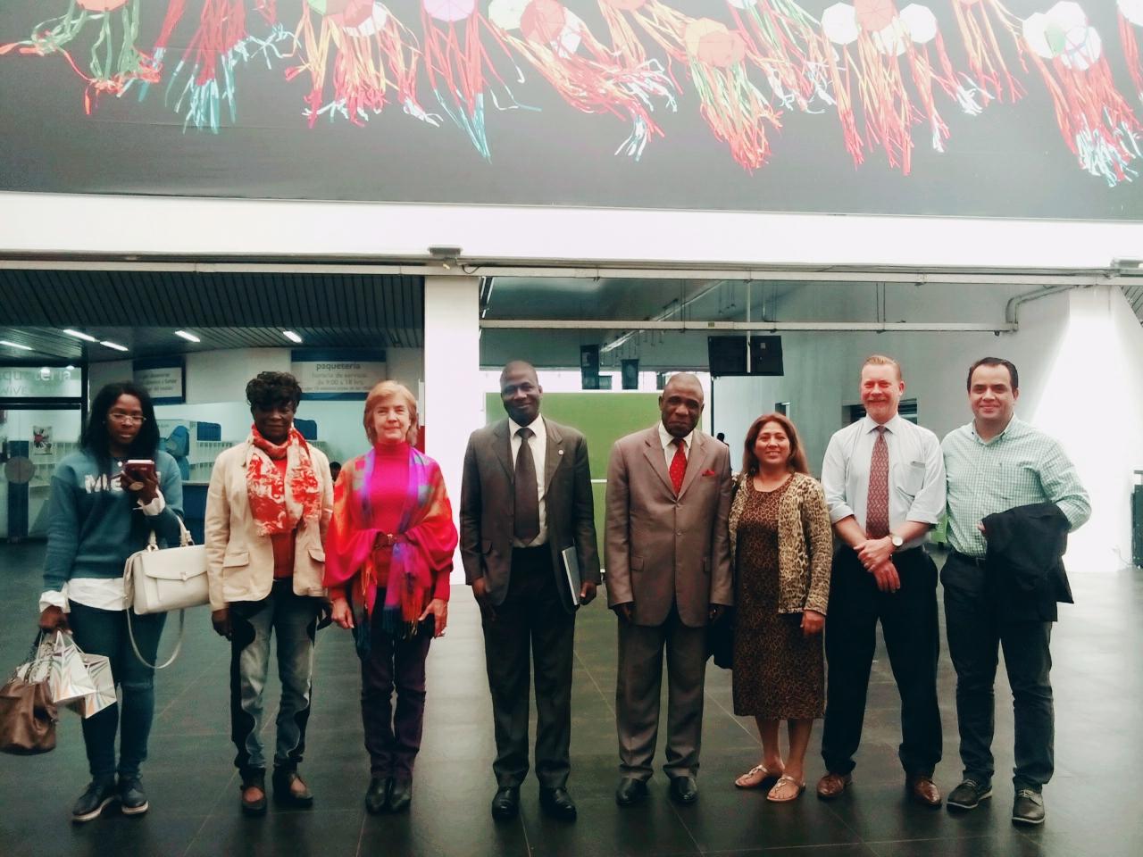 x Visita de Embajador de Costa de Marfil a Universum-UNAM