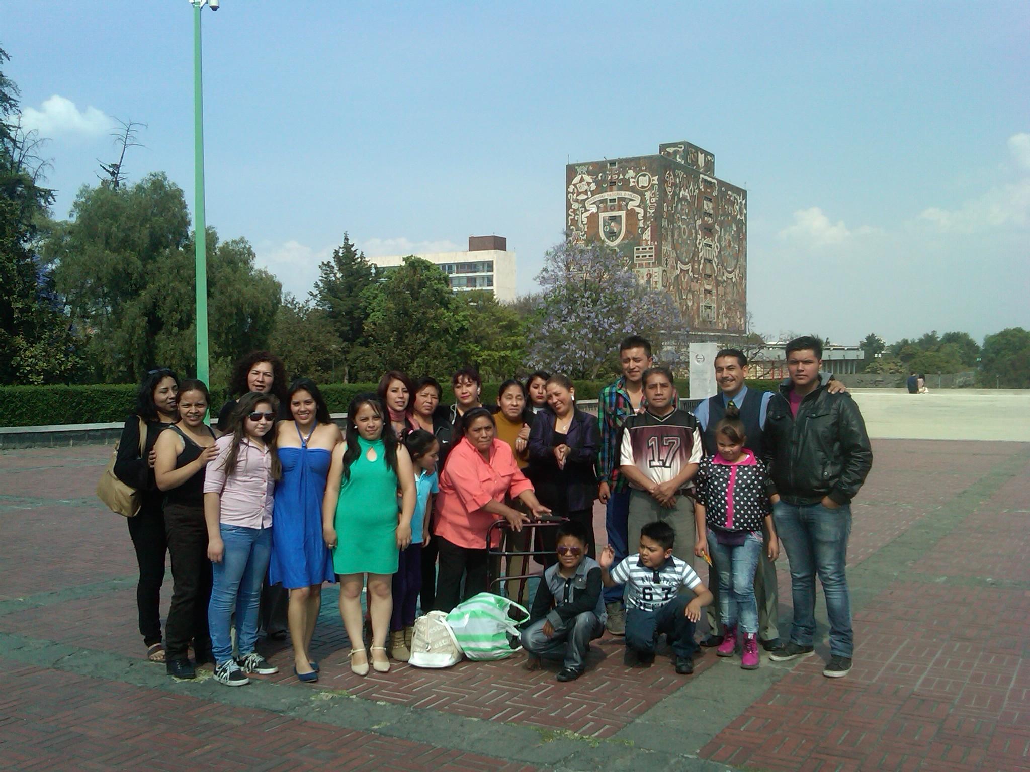 Visita guiada a la UNAM 2