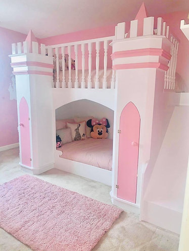 Princess/Prince castle bed