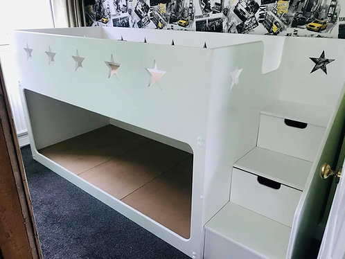 Bespoke Bunk Bed With Stairs