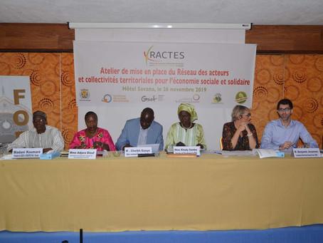 GSEF accompagne le lancement du RACTES au Sénégal