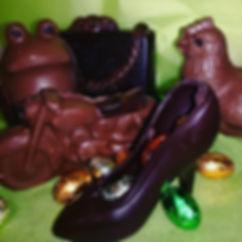 Chocolats de Paques le palet noir avignon