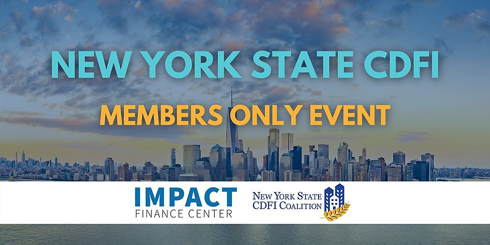 Creating a NYS CDFI Investor Club