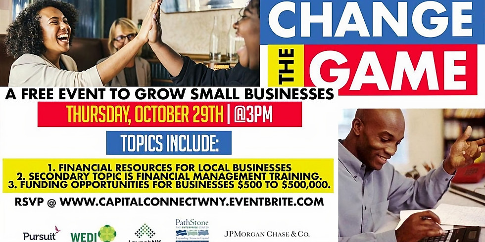Change the Game: A Free Event for Small Businesses