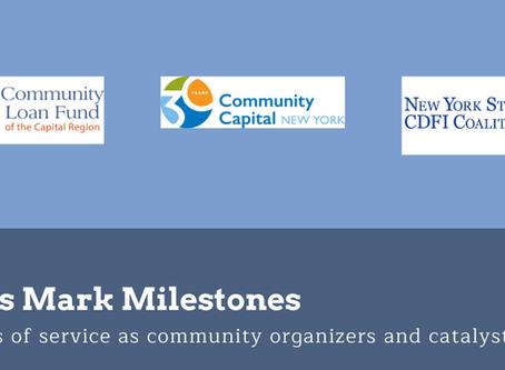 CDFIs Mark Milestones