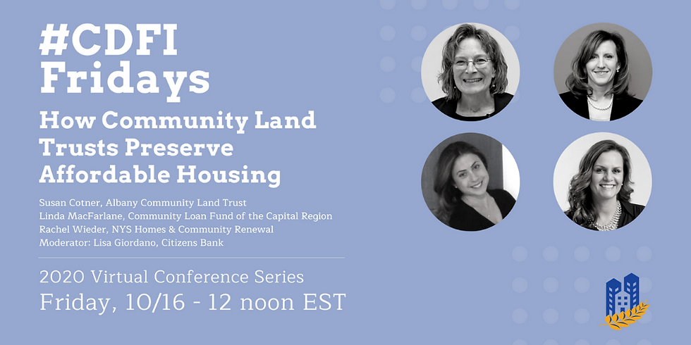 #CDFIFriday - Land Trusts Panel