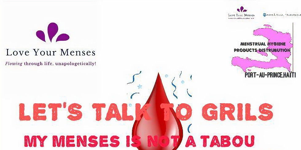 My Menses Is Not A Taboo