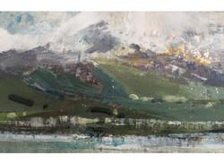 Snowdonia from Beaumaris