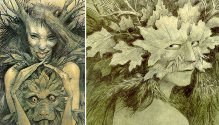 Brian Froud Faerie Art