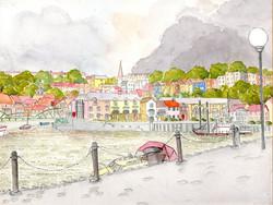 Baltic Wharf, Bristol 35 x 26 cm