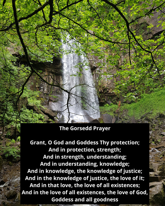 My Relationship with 'The Gorsedd Prayer'