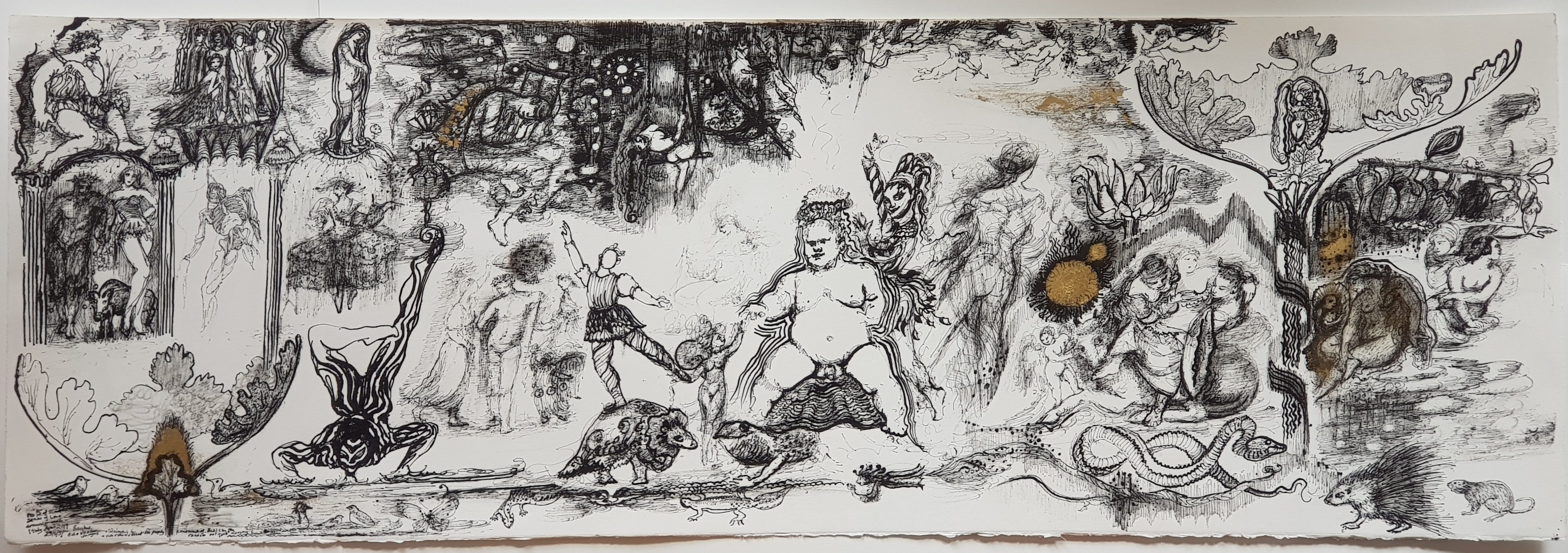 Bacchus, 112 x 38 cm