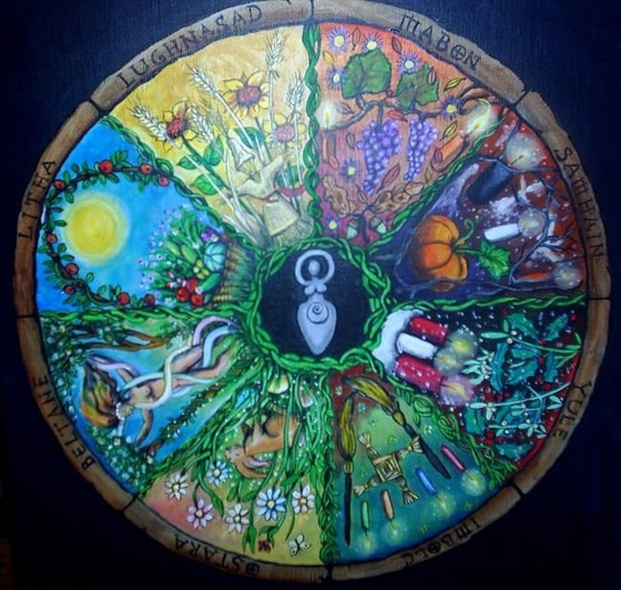 Birth by the Wheel of the Year. Some doula reflections.