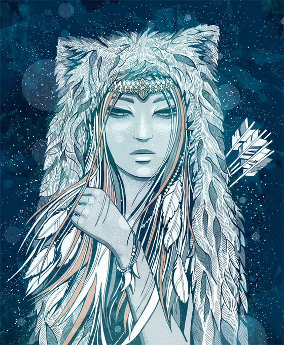Goddess of Winter and Winter Solstice