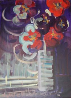 Night window ledge with purple flowers Dscn0184