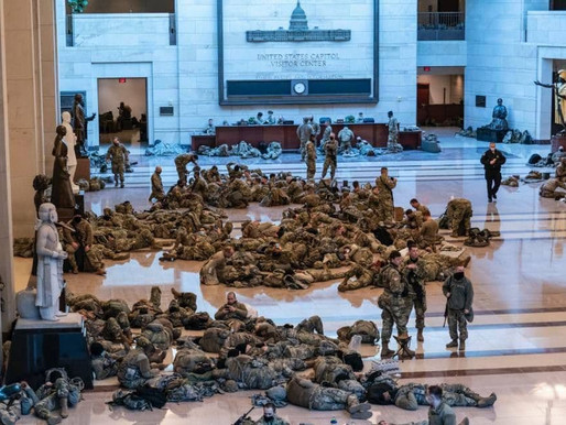 National Guard in D.C.- A Soldier's Prospective