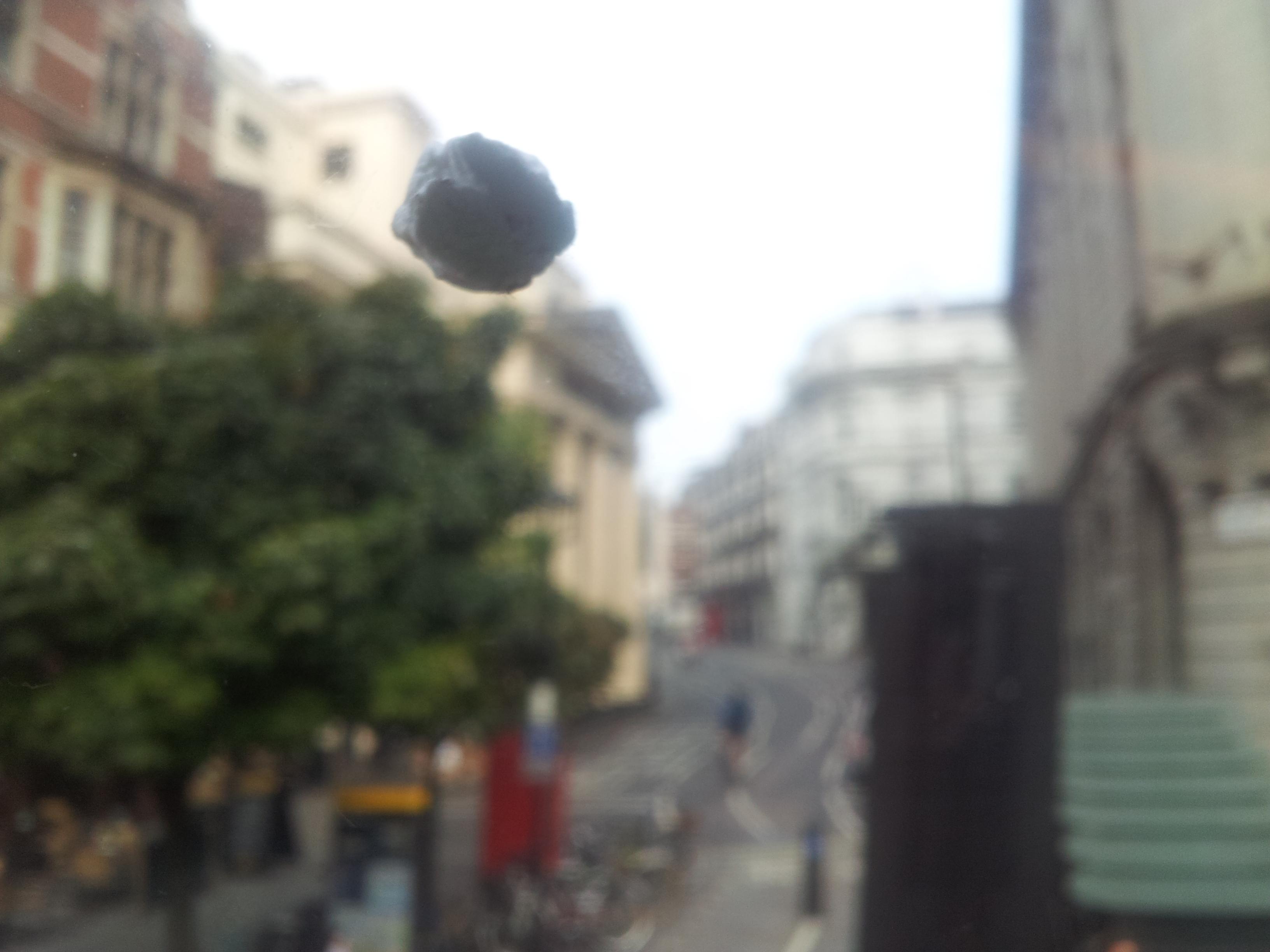Chewing Gum (Upstairs Bus Window)