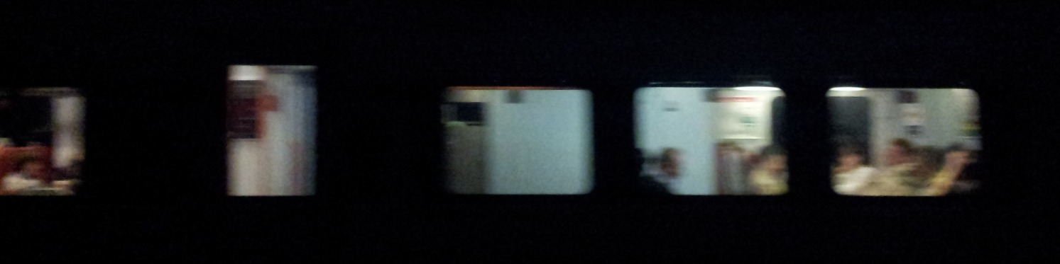 Night Train Passing for Filmstrip