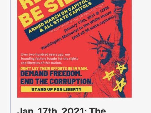 Upcoming Armed Protests