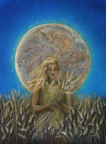 Meditation with Demeter this Full moon