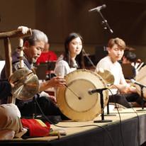 Rehearsal with Master Kim Duk-Soo