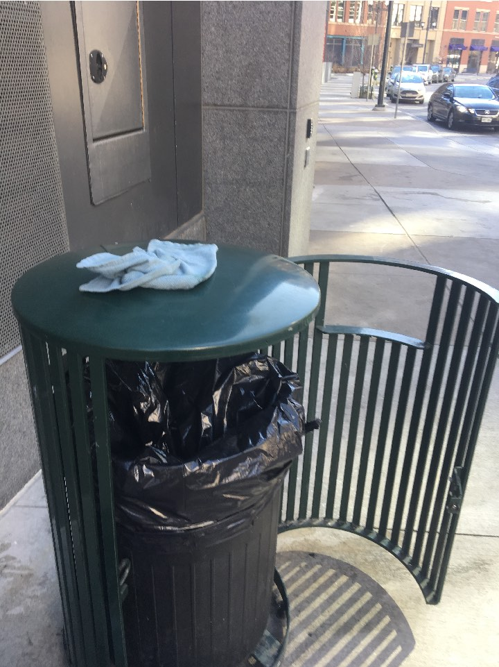 Trash Receptacle