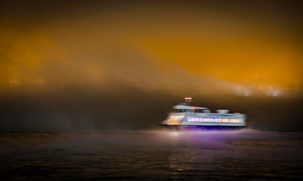 Ferry/Fog