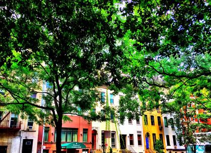 Manhattan Plaza Idylls