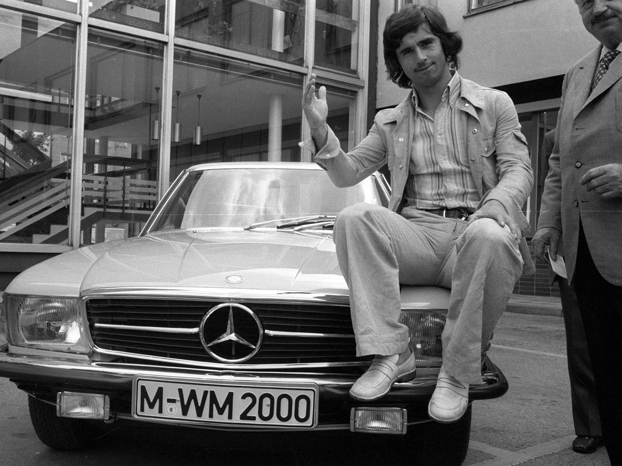 Gerd Muller - Mercedes 280