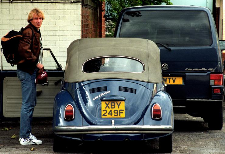 Jurgen Klinsmann - VW Beetle